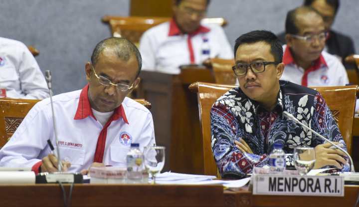 Foto Berita Tiga Pejabat Kemenpora Digelandang dalam OTT KPK, Begini Reaksi Gatot