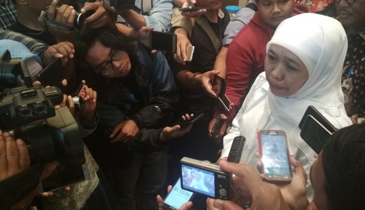 Foto Berita Khofifah Menang Versi Hitung Cepat, Kader Golkar Diminta Kalem