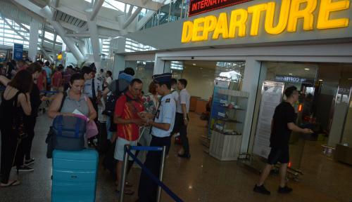 Foto Bandara I Gusti Ngurah Rai Bali Kembali Beroperasi Normal
