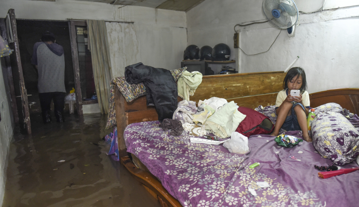 Foto Berita Puluhan Rumah di Pasaman, Sumbar Terendam Banjir
