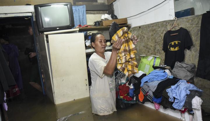 Foto Berita Yang Perlu Diperhatikan saat Kembali ke Rumah Usai Tergenang Banjir