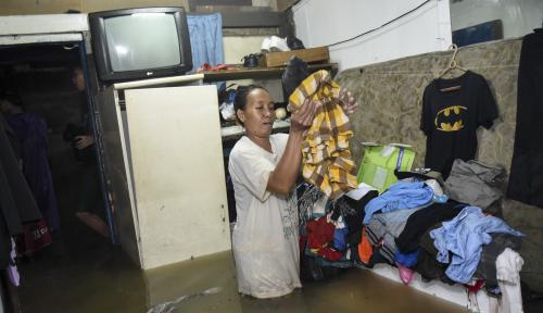 Foto Anies: Banjir di Jakarta Cepat Surut