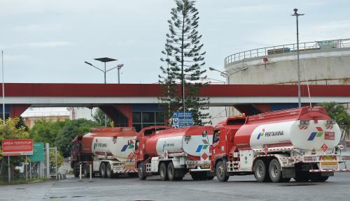 Foto Pertamina Jamin Pasokan BBM Selama Bencana Aman