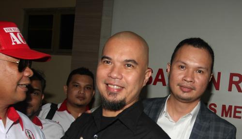 Foto Bela Ahmad Dhani, Gerindra: Berbau Politis Nih