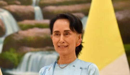 Foto Beri Informasi Soal Kasus Corona, Aung San Suu Kyi Bikin Akun Facebook