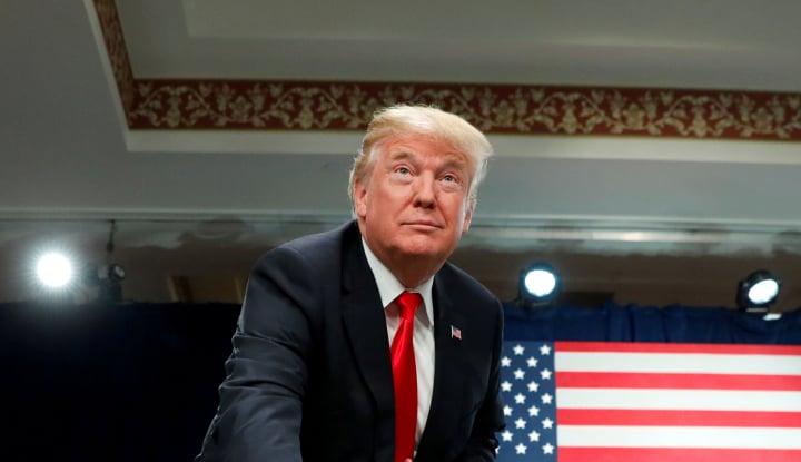 Foto Berita Lebih Pilih Awasi Suriah, Trump Batalkan Kunjungan Ke Amerika Latin