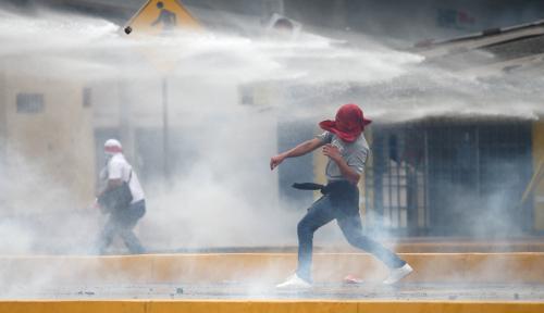 Foto Pasca-Pemilu, Honduras Terus Diguncang Amuk Massa