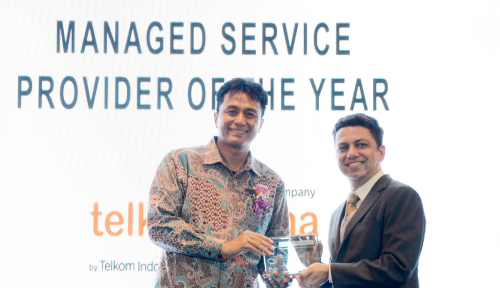 Foto Telkomsigma Raih Penghargaan Managed Service Provider of the Year