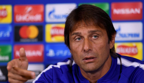Foto Conte Kecewa Inter Hadiahi 2 Gol untuk Lazio