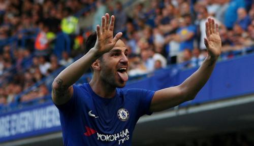 Foto Sebelum Hengkang dari Chelsea, Fabregas Bertekad Lakoni Laga Ke-500