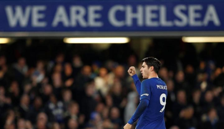 Foto Berita Maju ke Perempat Final, Chelsea Kandaskan Hull City 4-0