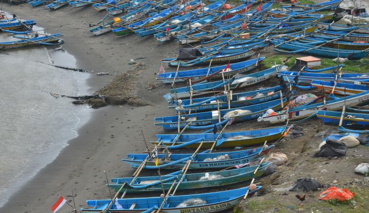 di cianjur, nelayan dan pedagang stop beroperasi karena cuaca ekstrem