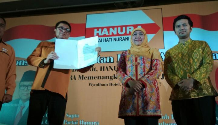 Foto Berita Bos Hanura: Kader Harus Dukung Khofifah-Emil, Jangan Sok Pura-pura