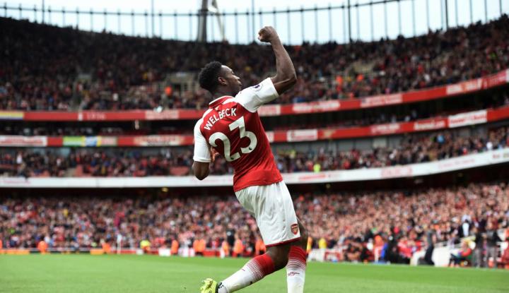 Foto Berita Welbeck Bawa Arsenal Cundangi Bournemouth 3-0