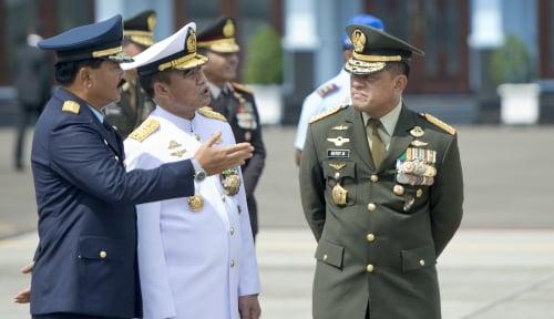 Foto Punya Kemampuan yang Kuat Jadi Alasan Jokowi Tunjuk Hadi Tjahjanto
