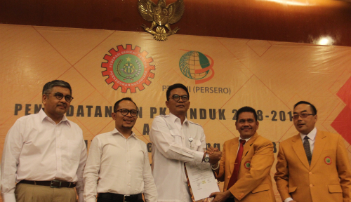 Foto PTPN III Holding dan Serikat Pekerja Perkebunan Perkuat Perjanjian Kerja Bersama