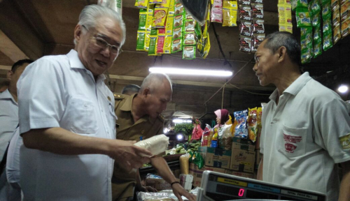 Foto Mendag: Stok Pangan Jelang Ramadan Aman
