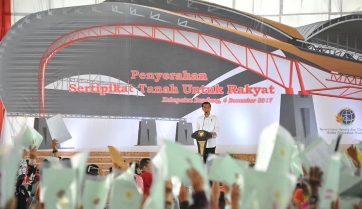 Foto Berita 2025, Jokowi Bakal Tuntaskan Sertifikasi Tanah di Kab Bandung