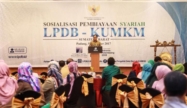 Foto Berita LPDB KUMKM Perkuat Pola Syariah di Daerah