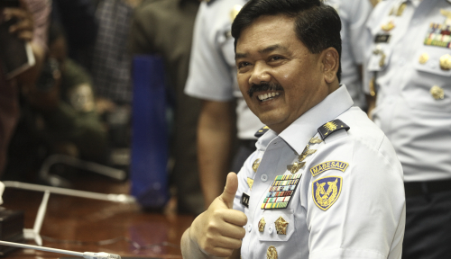 Foto Calon Panglima TNI Ditantang Begini oleh DPR