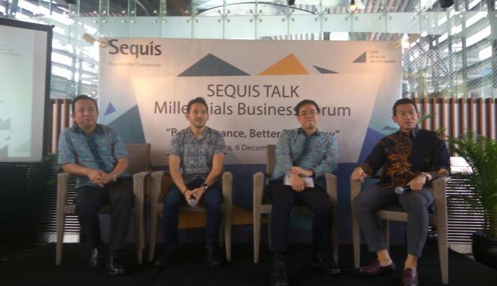 Foto Berita Sequis Gelar Forum Pengembangan Bisnis dan Literasi Keuangan Milenial