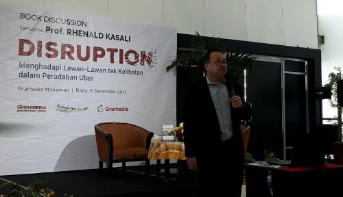 Foto Luncurkan Buku ke-35, Rhenald Kasali Ungkap Dampak Inovasi Era Disrupsi