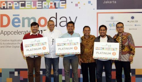 Foto Ini Startup Pemenang Appcelerate 2017
