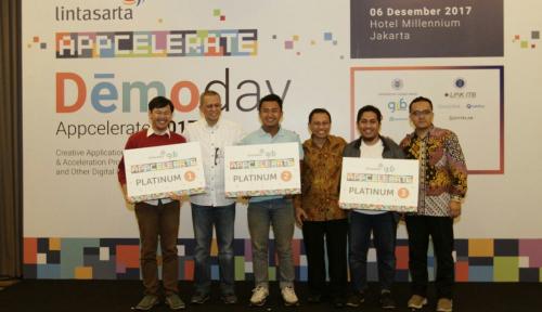 Foto Lintasarta Umumkan 8 Startup Pemenang Appcelerate 2017