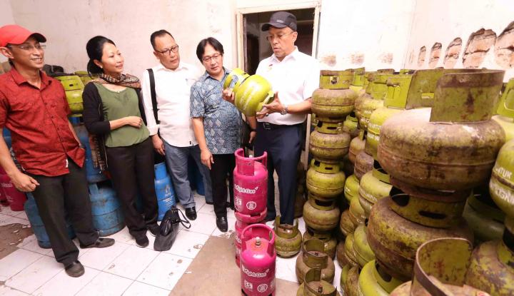 Foto Berita Polres Balangan Sita 200 Unit Tabung Elpiji Ilegal