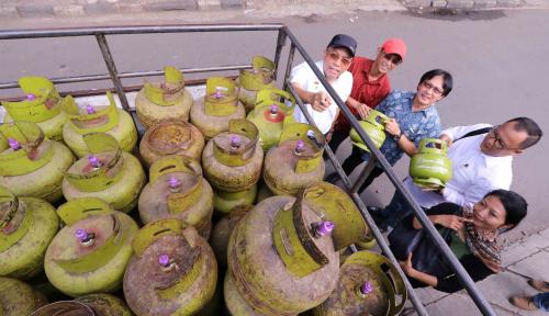 Foto Pertamina Bantah Gas Melon di Bali Langka