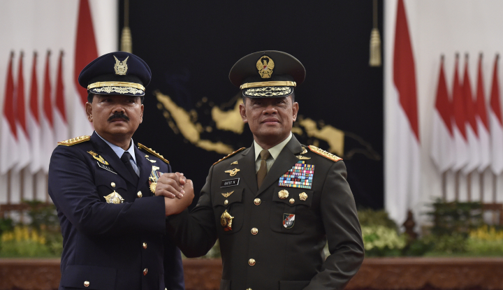 Foto Berita Panglima: TNI Juga Mampu Berantas Teroris