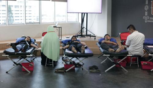 Foto Ajak Lebih Banyak Orang untuk Donor Darah, #RebloodNow Kembali Hadir
