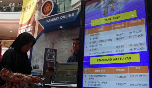 Foto Samsat Pekalongan: Tunggakan Pajak Capai Rp5,8 Miliar