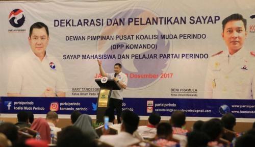Foto Dukung Percepatan Kesejahteraan Indonesia, Perindo Deklarasikan Dua Sayap