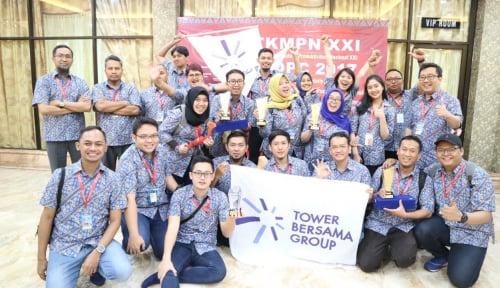 Foto Tower Bersama Raih Penghargaan Platinum di TKMPN 2017
