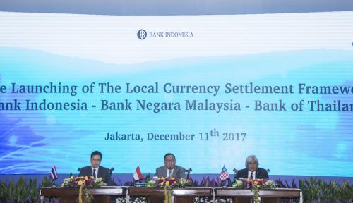 Foto Thailand dan Malaysia Kini Terima Transaksi Perdagangan Pakai Rupiah