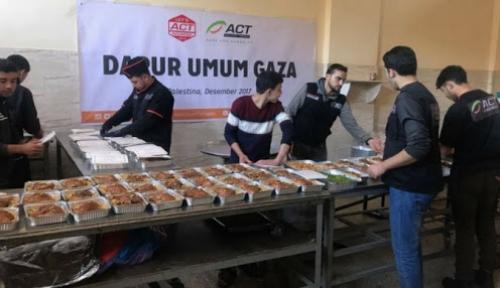 Foto Hingga Akhir Ramadan, Tersedia 10 Ribu Ton Pangan untuk Palestina