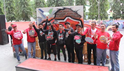 Foto Dukung Kreasi Anak Muda Medan, Telkomsel Resmikan LOOP Arena