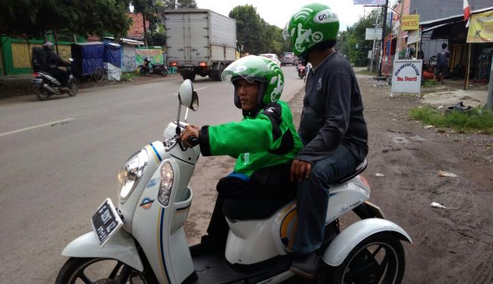 Foto Berita Dishub Minta Angkutan Online Punya