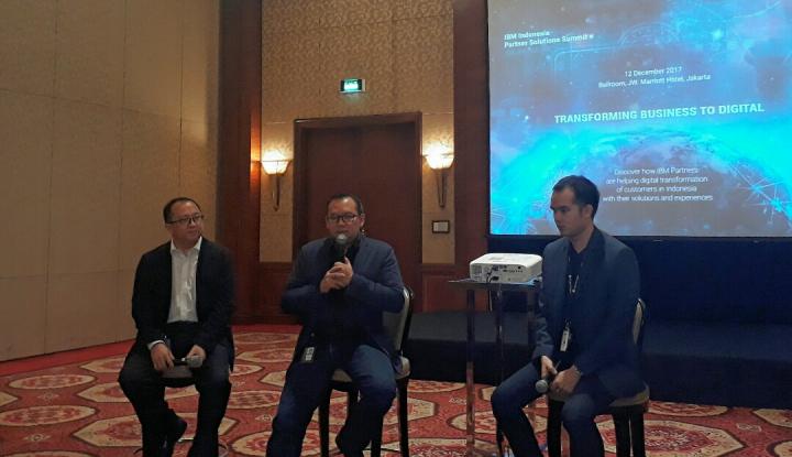 Kolaborasi IBM Indonesia Bawa Pelanggan Berakselerasi ke Bisnis Digital
