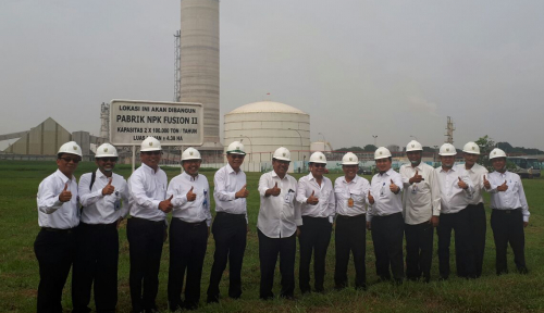 Tekan Konsumsi Gas, Revitalisasi Pabrik Jadi Jurus Pupuk Indonesia