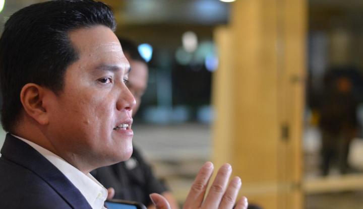 Foto Berita Saham Perusahaan Erick Thohir Naik Tak Wajar, Bursa Lakukan Pemantauan