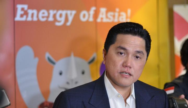 Foto Berita Erick Thohir Jamin Asian Games Aman dari Ancaman Bom