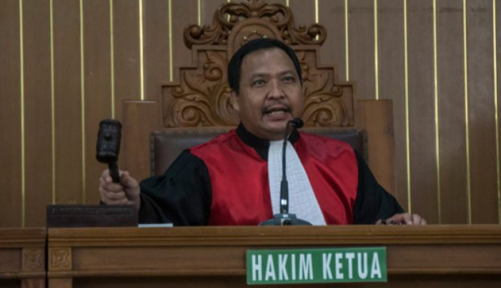 Foto Berita KPK: Sidang Praperadilan Setnov Dinyatakan Gugur