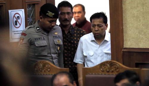 Foto Novanto Memohon Dijadikan Justice Collaborator, Hakim Malah Sindir Balik