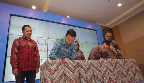 Foto BIJB dan PP Properti Kembangkan Kawasan Aerotropolis Pertama di Indonesia
