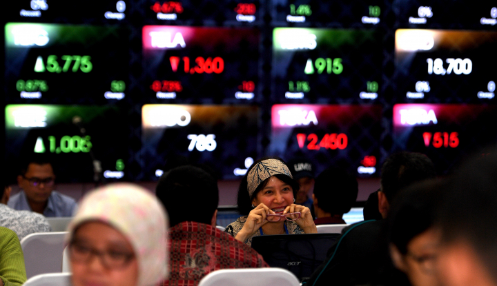 Foto Berita Tahun Politik 2018, Menjaga Asa di Sektor Pasar Modal Indonesia (1)