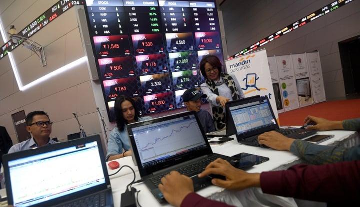 Tak Kuat Bangkit, IHSG Anjlok 0,12% di Akhir Sesi II - Warta Ekonomi