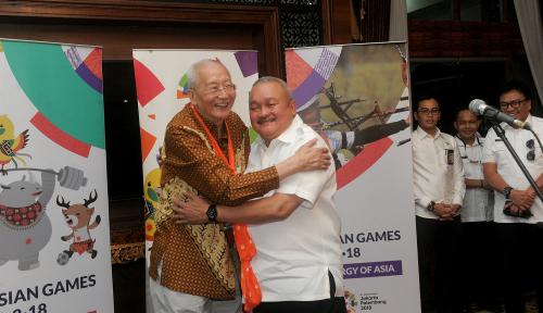 Foto Bos OCA: Palembang Bukan untuk Asian Games, Tapi Olimpiade