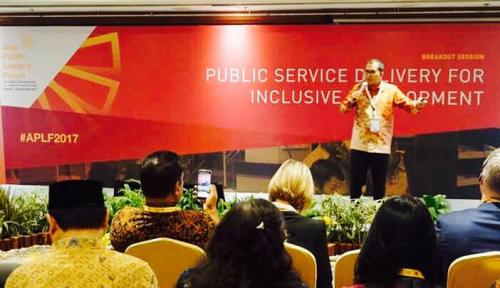 Foto Wali Kota Makassar Paparkan Inovasi 'Pasikola' di Asia Pasific Leader Forum